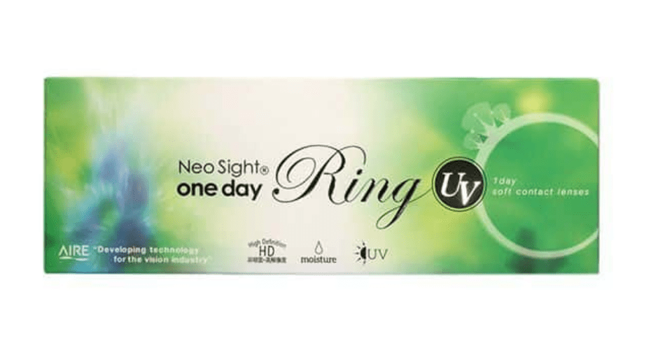 mimibuy.com 美瞳 NeoSight1day Ring UV 棕色Brown日抛30片装