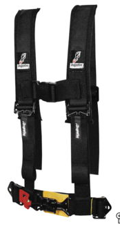DragonFire Racing Harness Restraints (4pt) (Youth)
