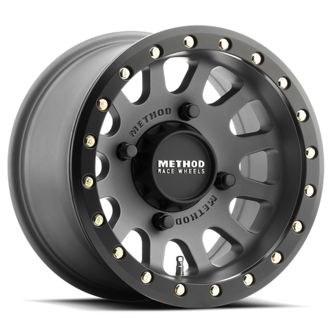 Method Race Wheels 401 UTV Beadlock | Titanium