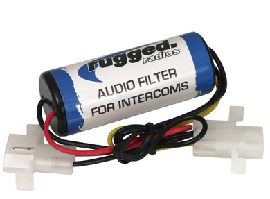 Rugged Radios Audio Filter for Intercom Only