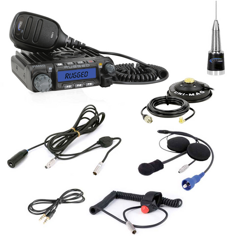Rugged Radios Single Seat Kit with 60-Watt Radio