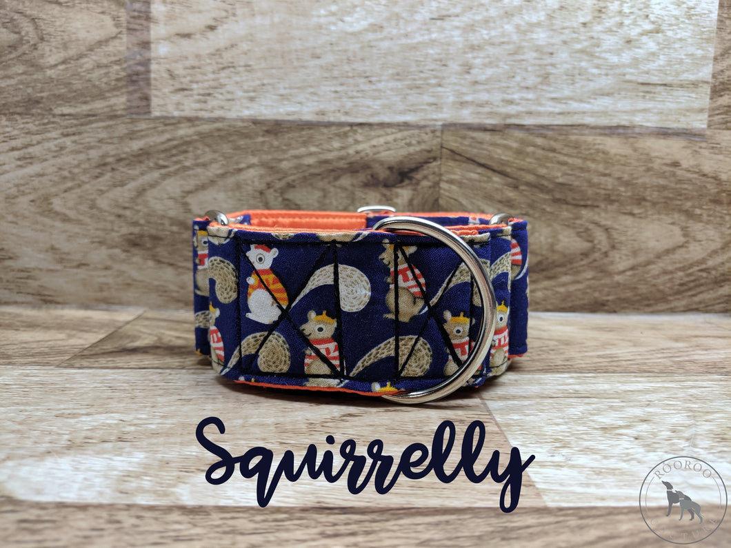 Squirrelly Martingale Collar