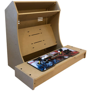 "LVL27XP Pandora's Box Ready Bartop Arcade Cabinet Kit for 23"" to 27"" screens"