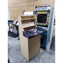 "Load image into Gallery viewer, LVL23TC 54"" tall Tankstick Ready Cabaret Arcade Cabinet Kit"