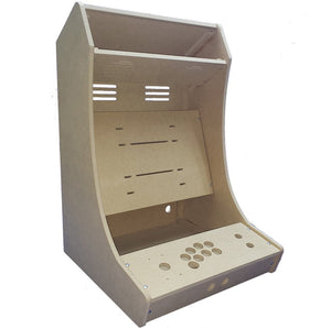 "LVL23V Vertical 1 Player Bartop Arcade Cabinet Kit for up to 23"" screens (HAPP or SANWA)"