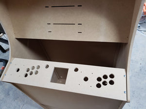 "LVL32J 2 Player Upright Arcade Cabinet Kit for up to a 32"" screen"