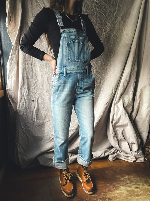 Mother Denim The Tripper Overall Ankle in I Confess