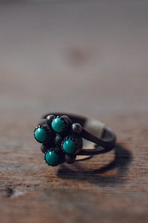 KJB Reclaimed Four Stone Ring