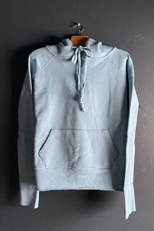 Nili Lotan Janie Hoodie in Light Blue