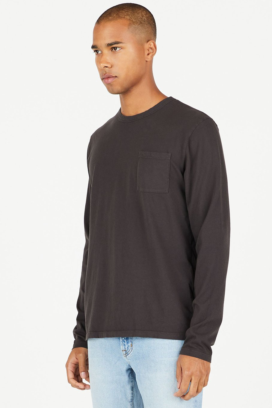 Cotton Citizen Men's Standard Pocket Shirt in Slate