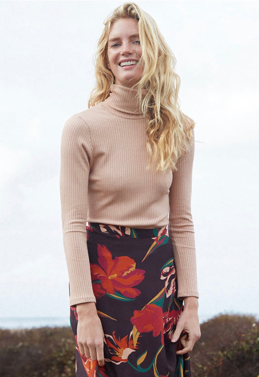 Rachel Pally Rib Turtleneck in Maple