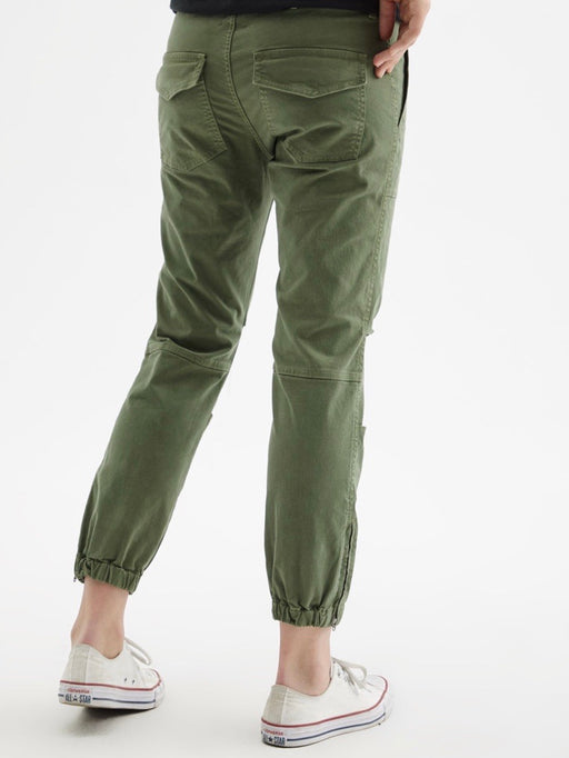 Nili Lotan Cropped Military Pant in Camo