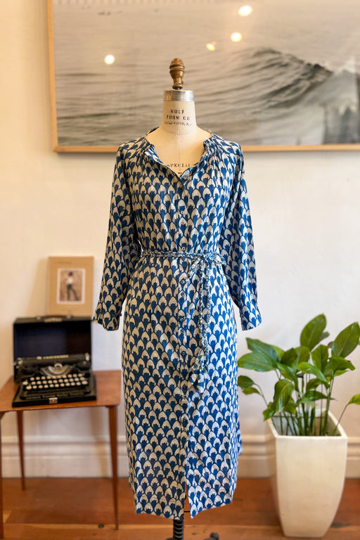 Mirth Vienna Caftan Dress In Indigo Jewel