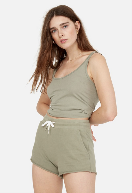 Mate the Label Lounge Short in Sage