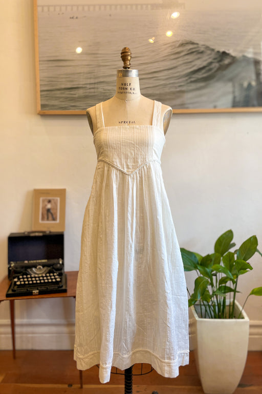 Mirth Newport Dress In White