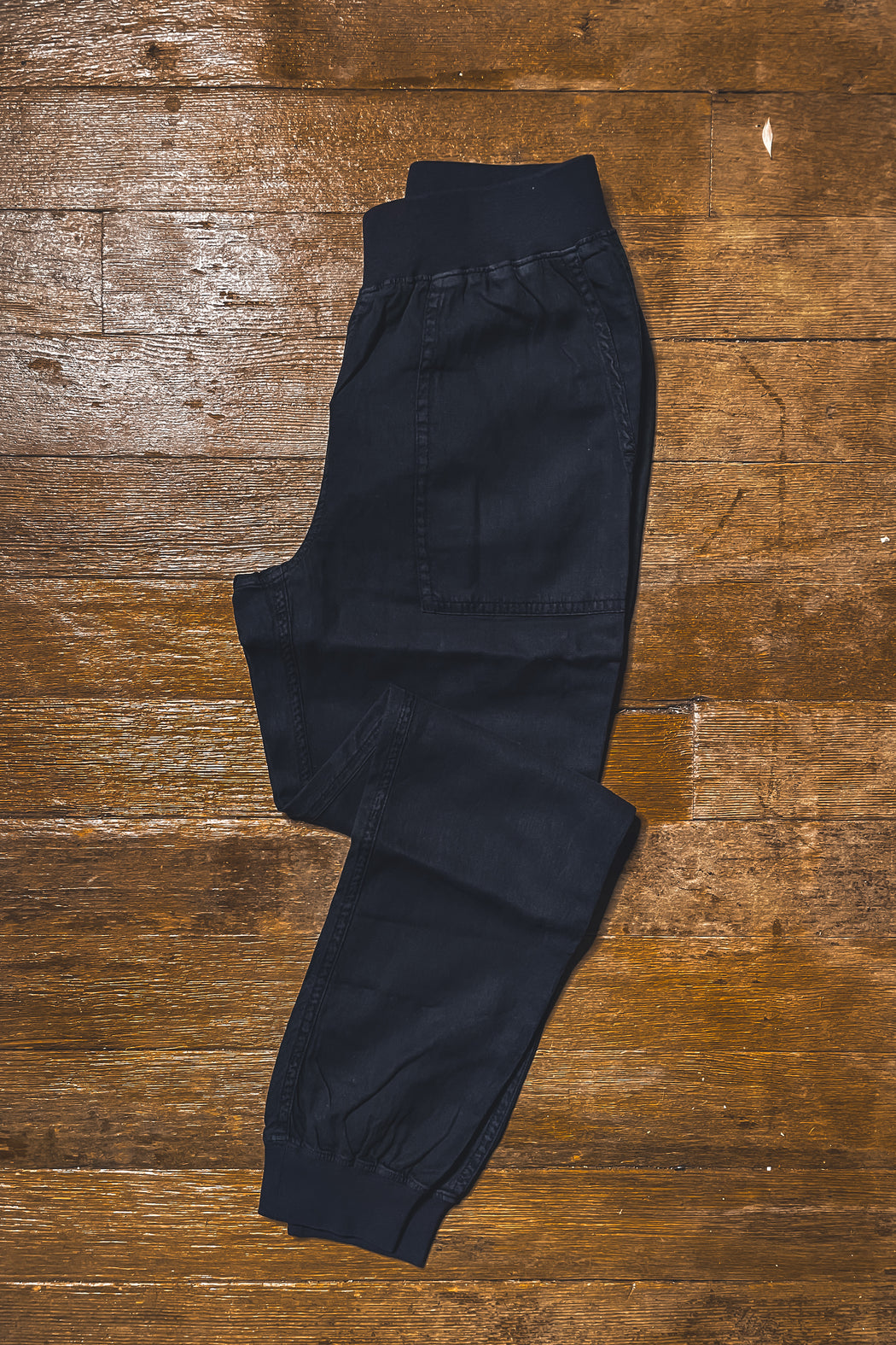Faherty Arlie Day Pant in Washed Black
