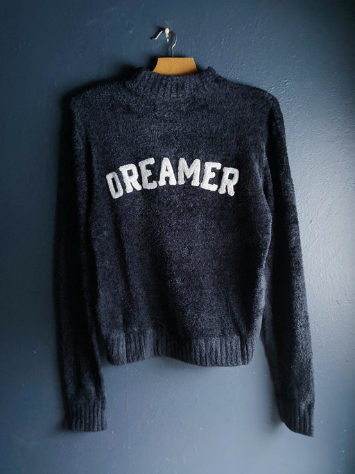 Spiritual Gangster Dreamer Serenity Sweater in Black