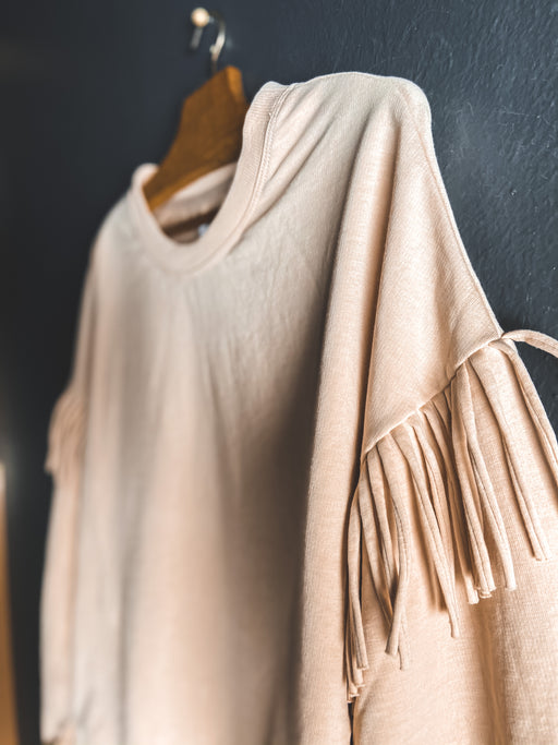 Sundays Jane Pullover in Ivory Smoke