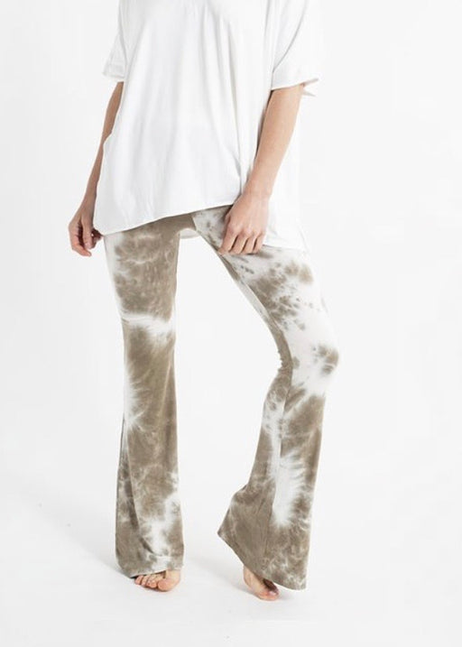 Yanak Tammy Flair Pants Tie Dye