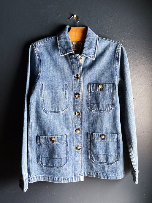 Faherty Studio Chore Jacket in Indigo
