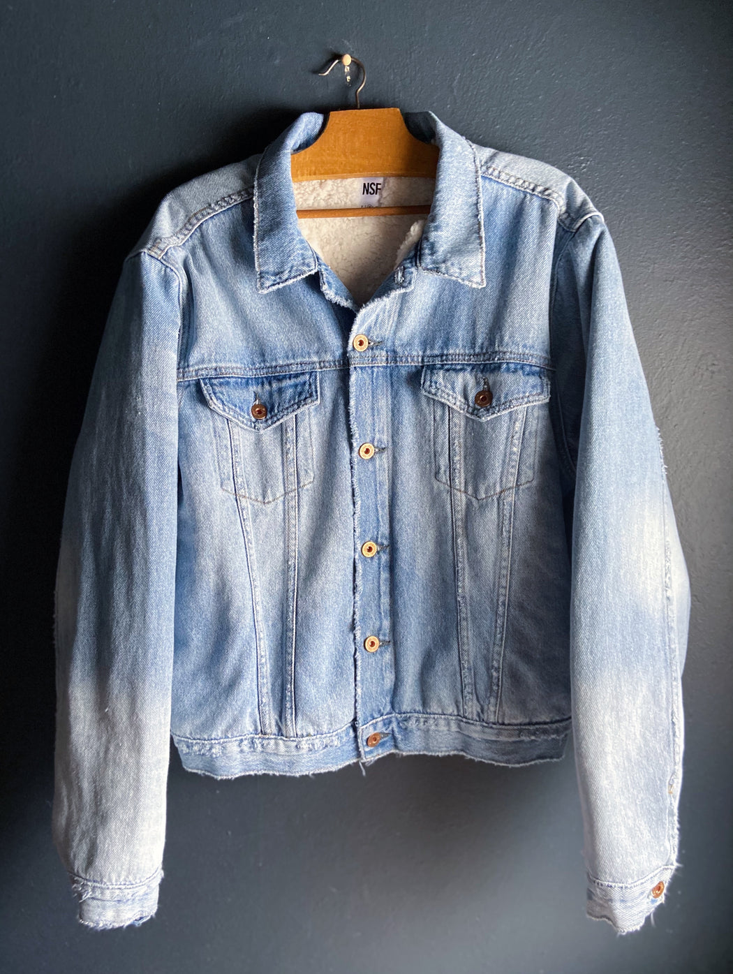 NSF Jesse Oversize Denim Jacket