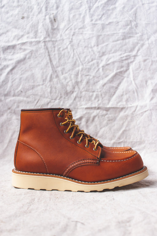 Red Wing 6-Inch Classic MOC in Oro Legacy Leather