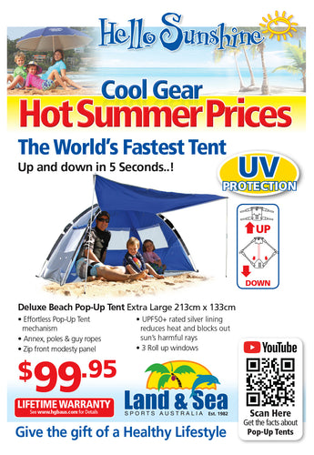Deluxe Beach Pop-Up Tent