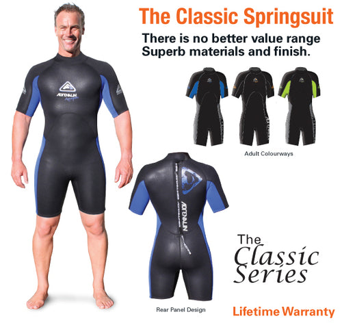 AQUASPORT X Mens Springsuit