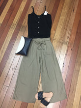 Load image into Gallery viewer, Khaki Tye Front Pants