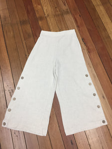 Button Side Pant