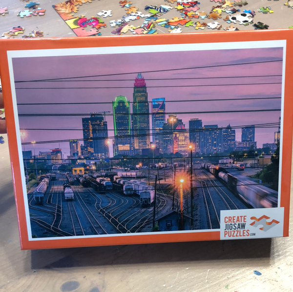 Skyline Puzzle - 1000 pieces