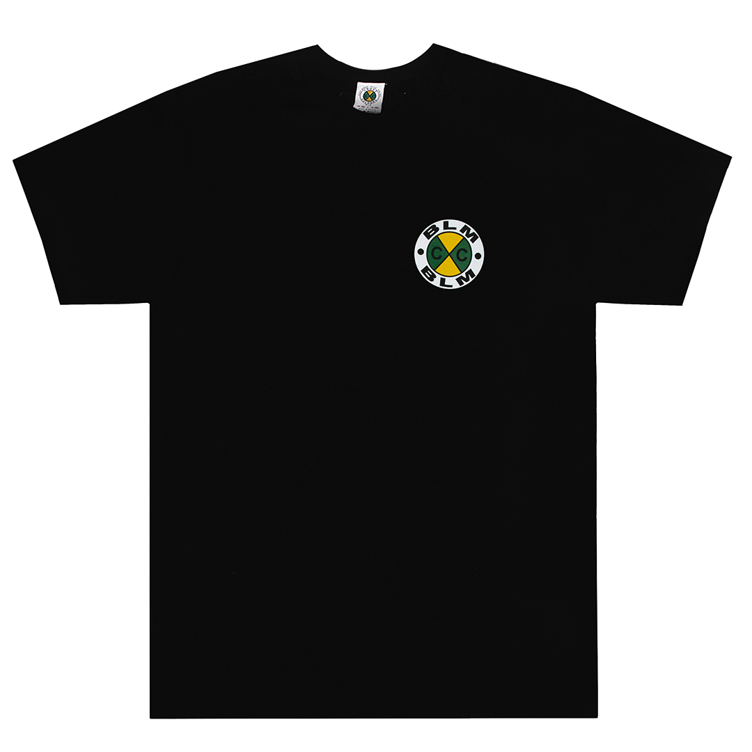Cross Colours BLM T Shirt - Black