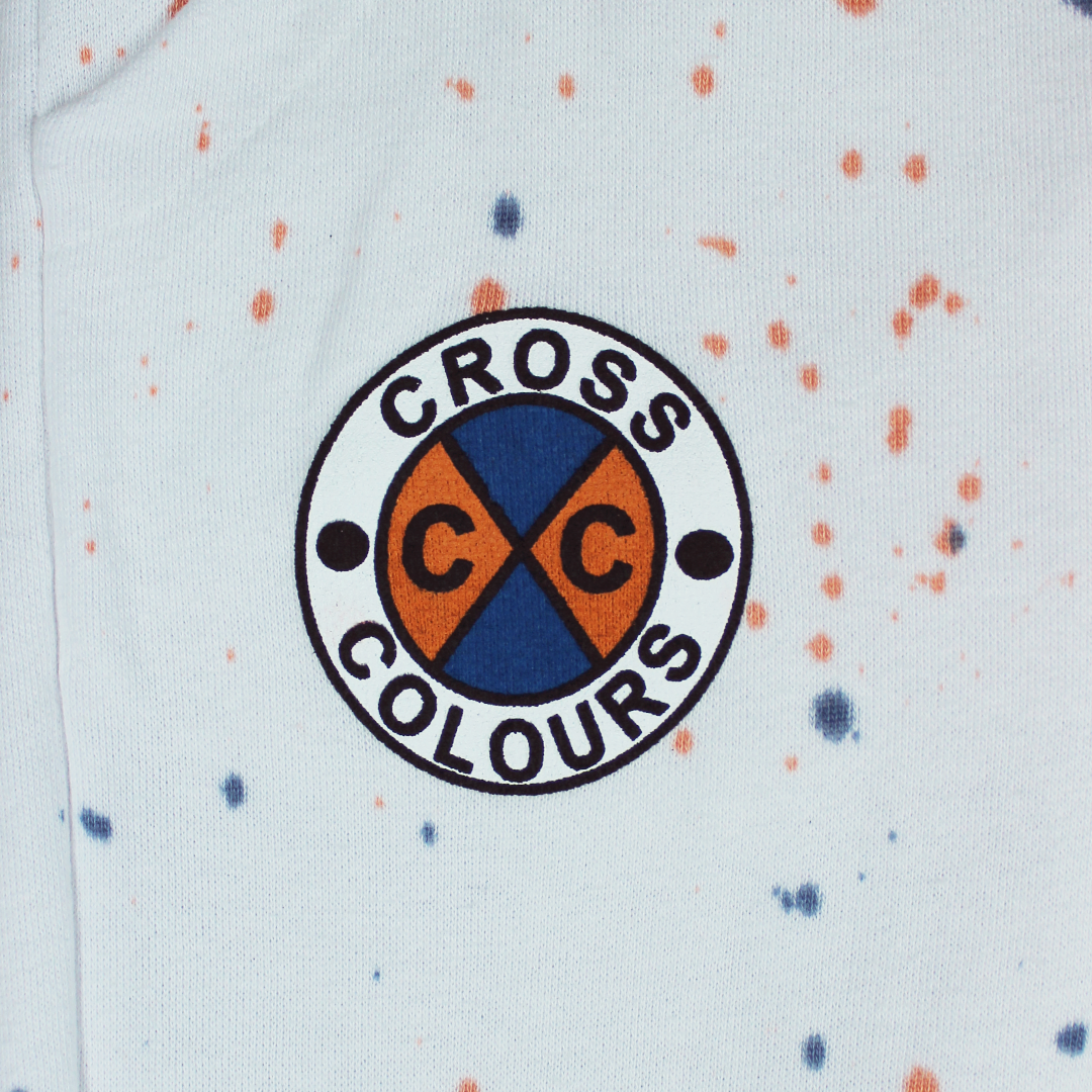 Cross Colours Circle Logo Jogger - Tie Dye