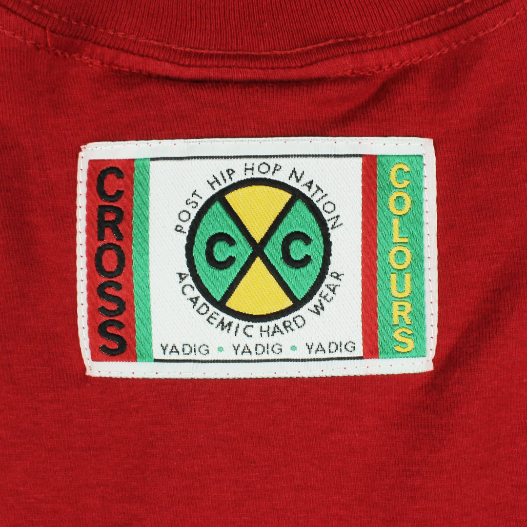 Cross Colours Circle Logo T-Shirt - Red