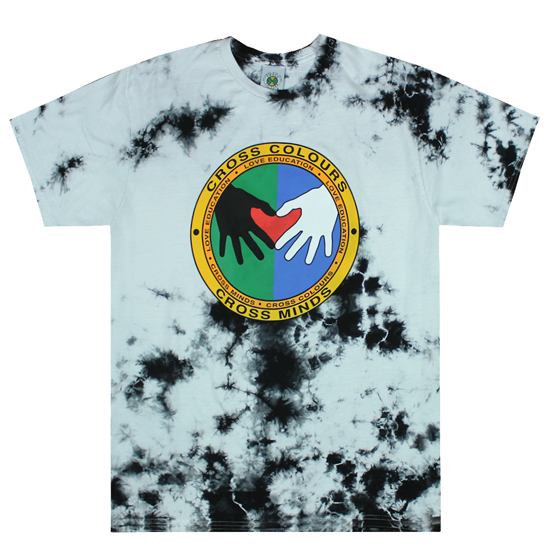 Cross Colours Cross Minds T Shirt - Tie Dye