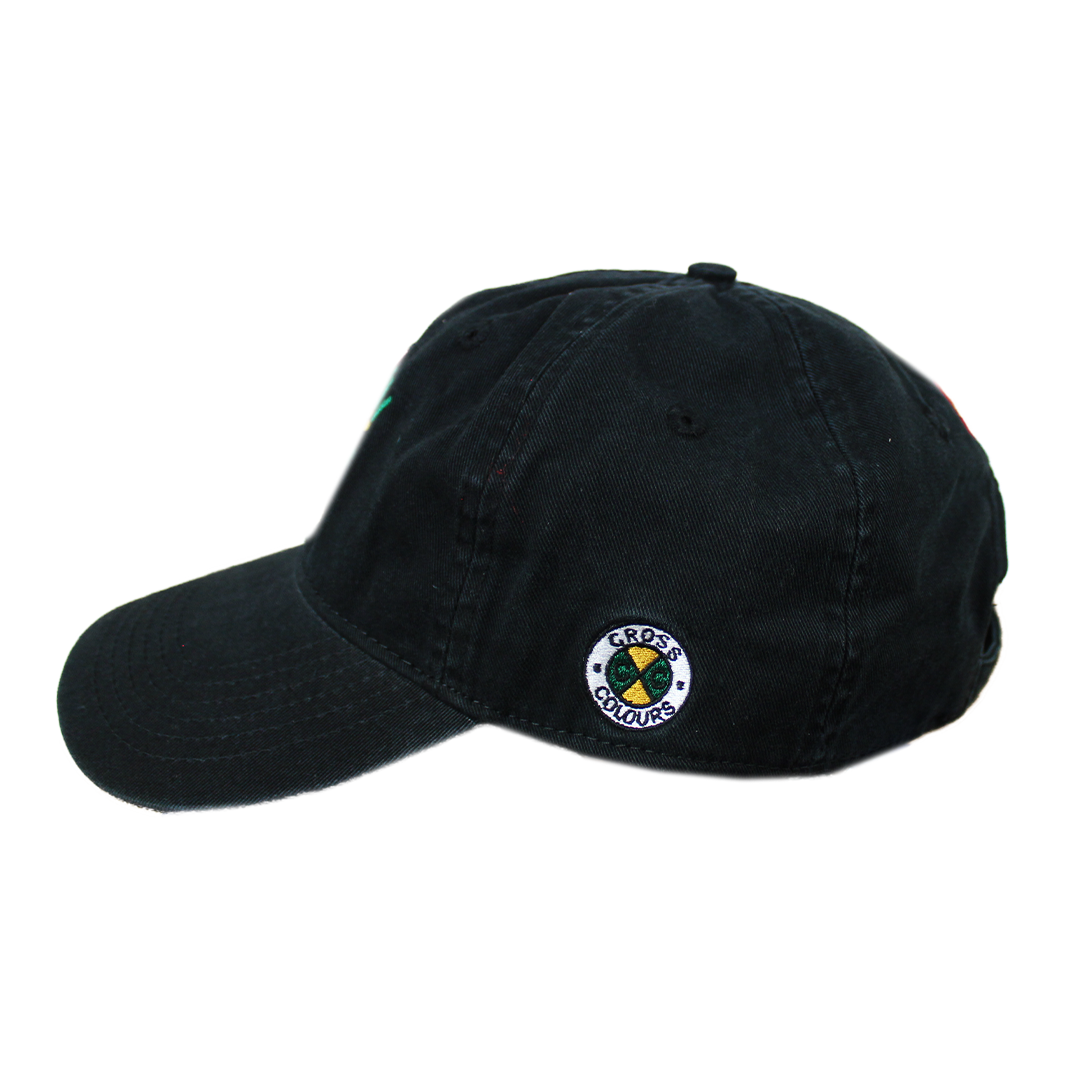 Cross Colours Love Black Lives Dad Hat - Black
