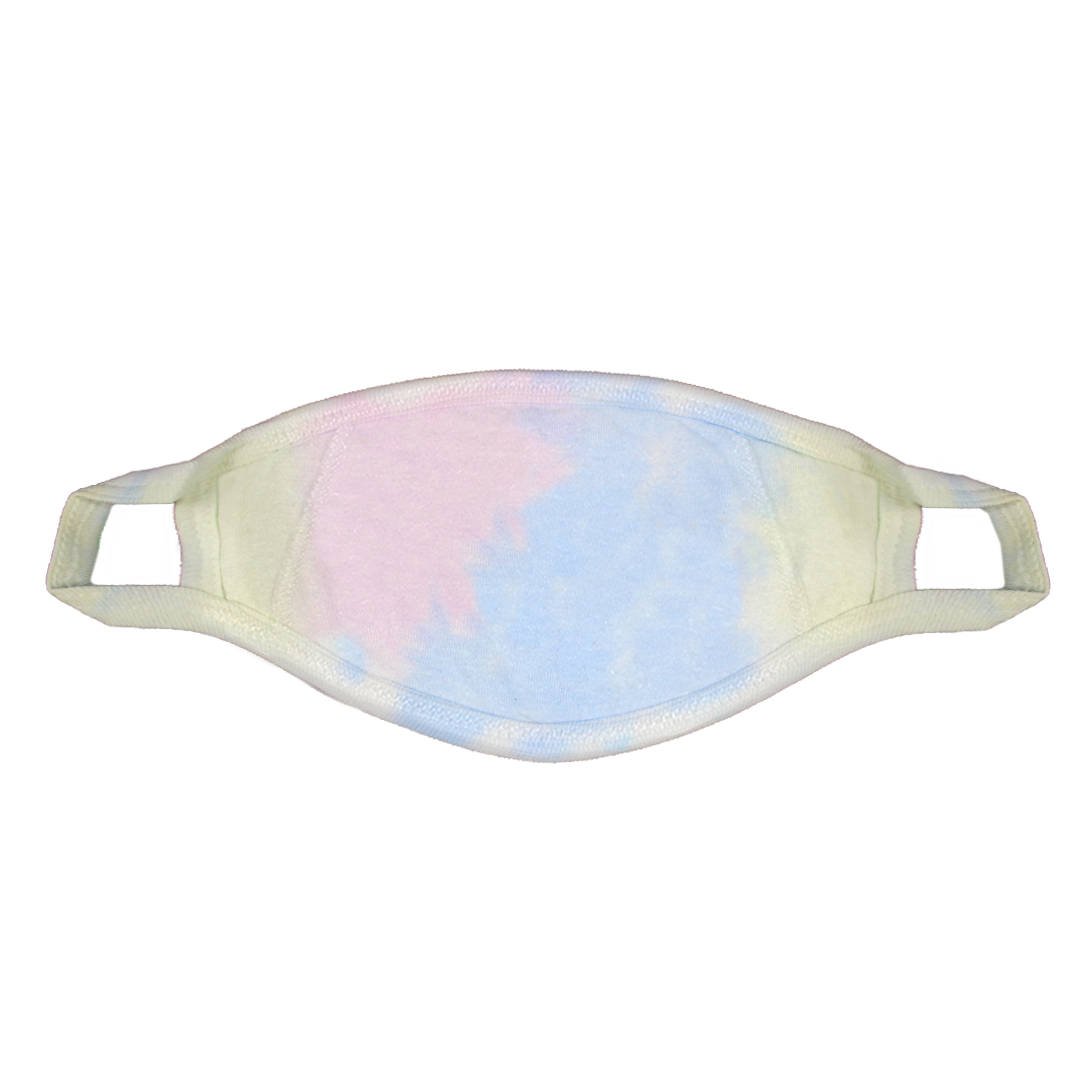 Cross Colours Love Face Mask - Tie Dye