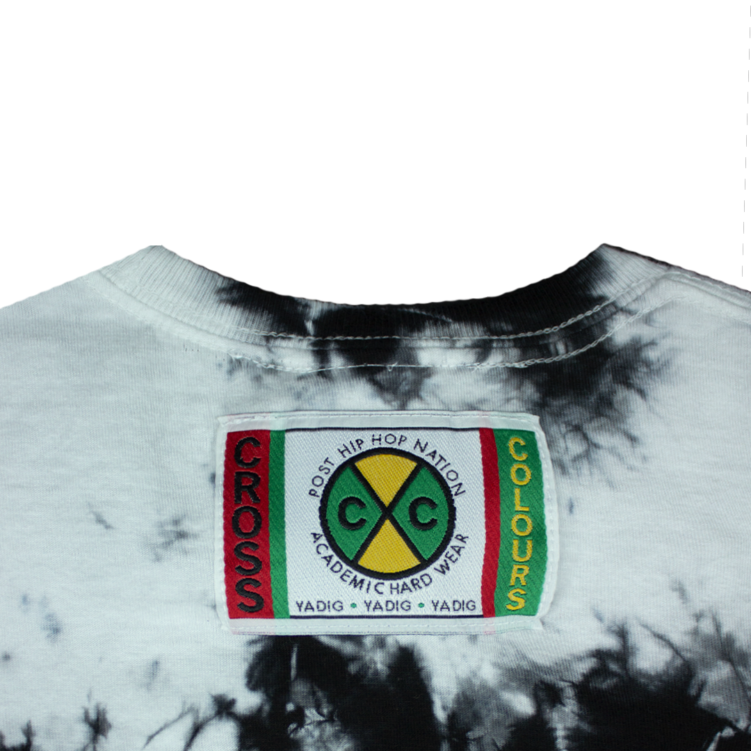 Cross Colours Love Sees No Gender T Shirt - Tie Dye