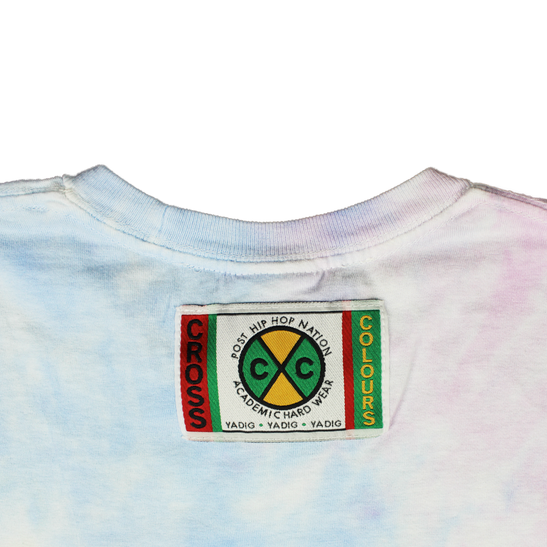 Cross Colours Love T Shirt - Tie Dye