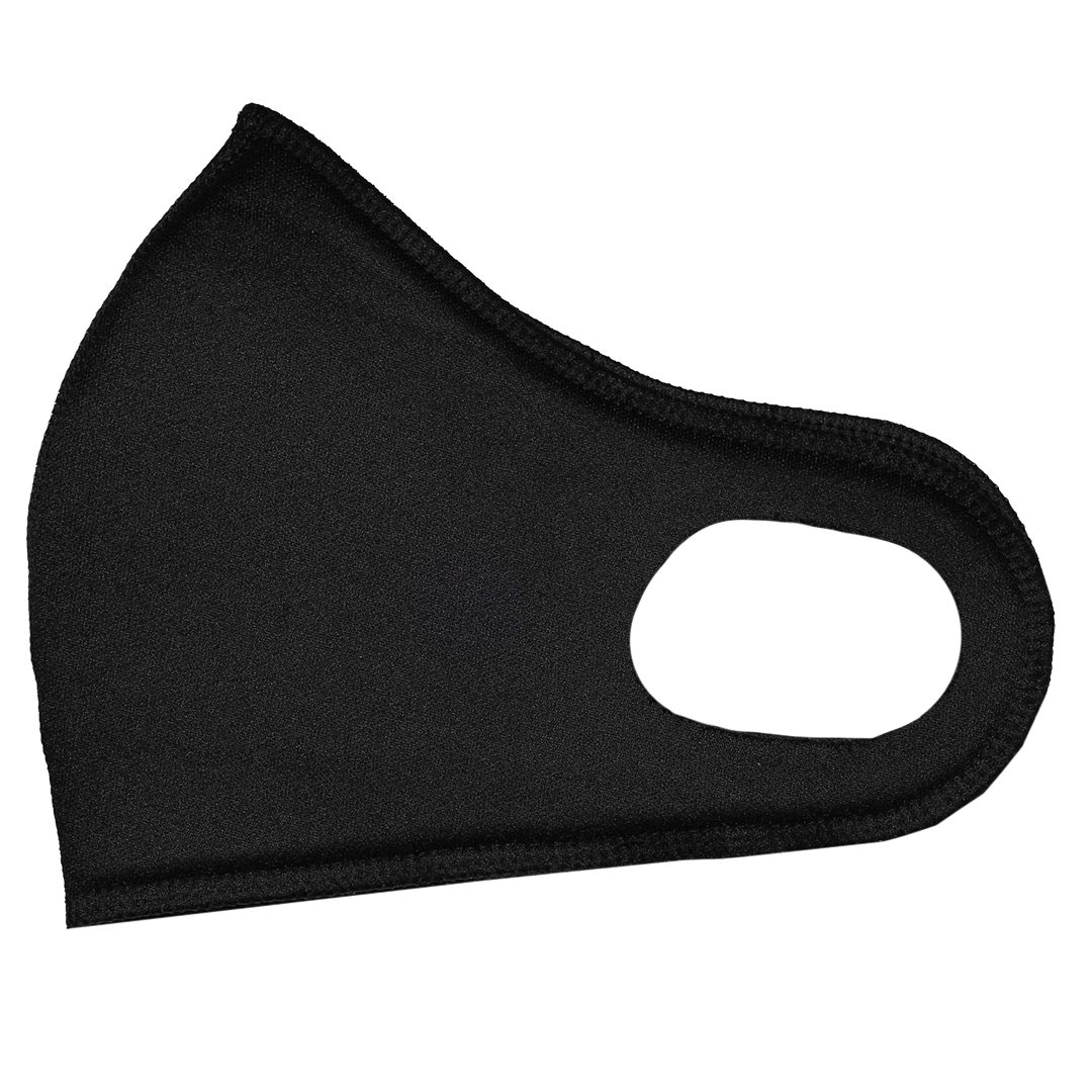 Cross Colours Padded Face Mask - Black