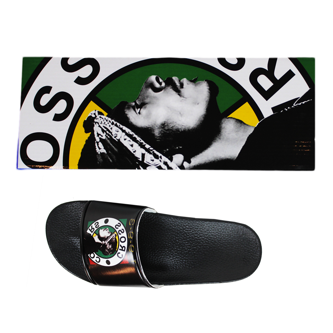 Cross Colours Snoop Dogg Slides - Black