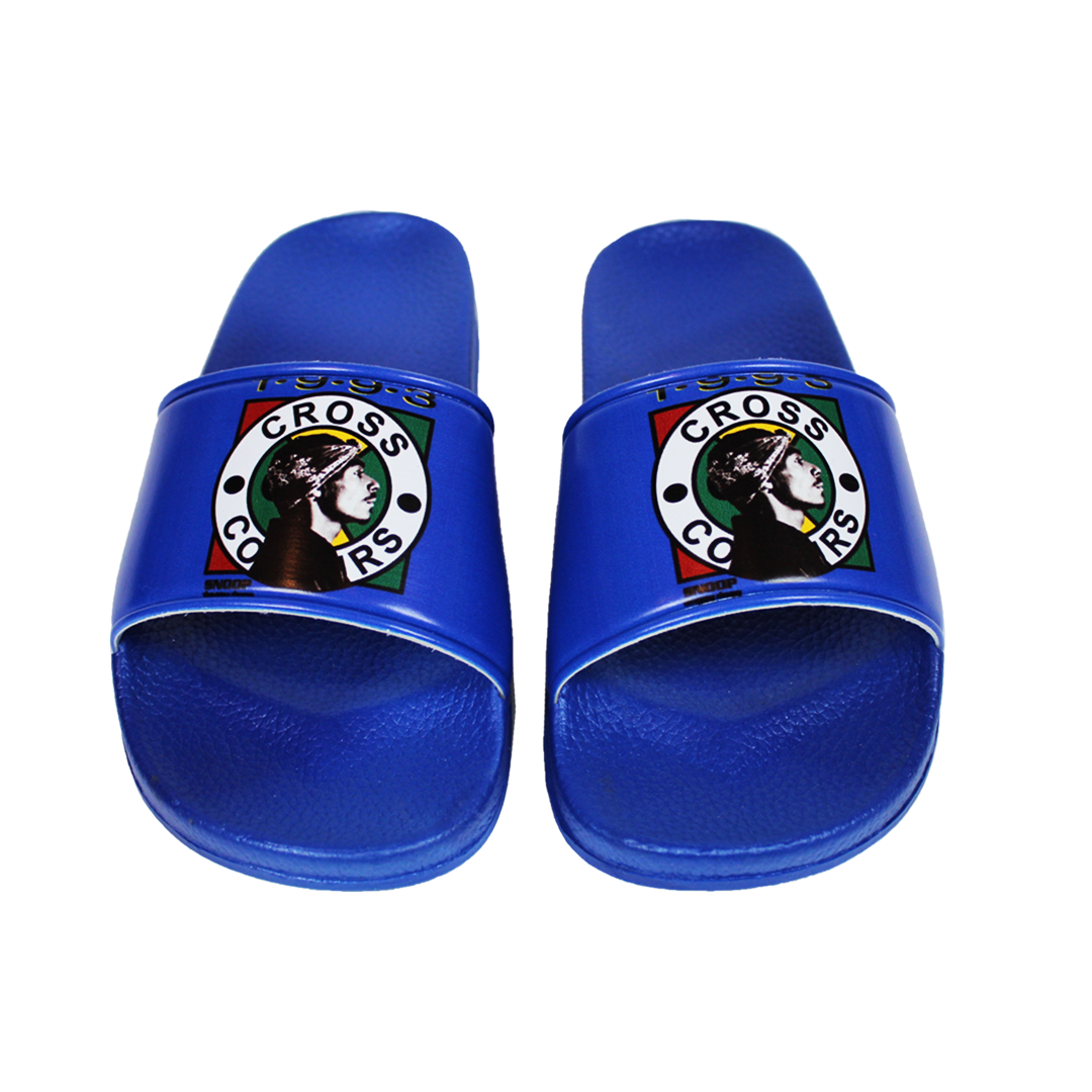 Cross Colours Snoop Dogg Slides - Blue
