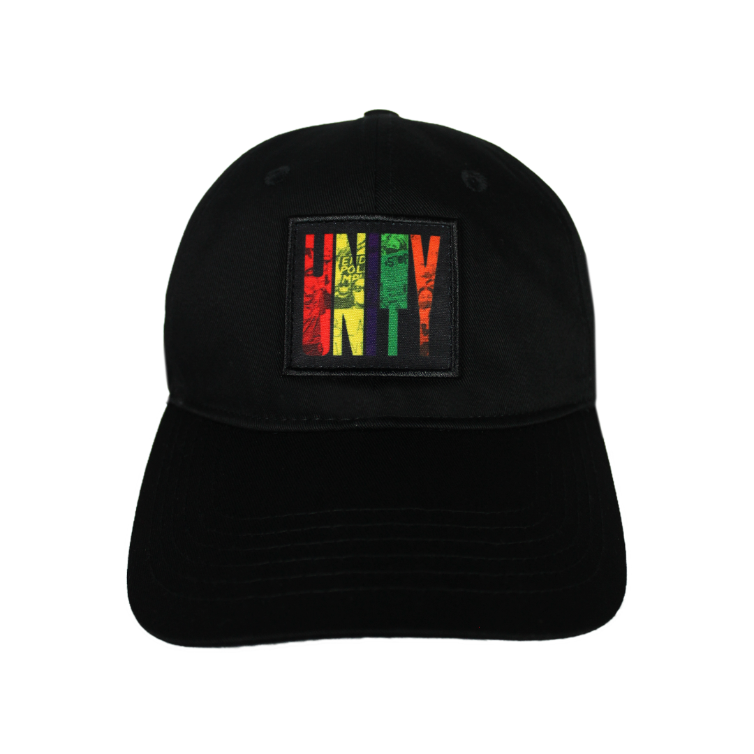 Cross Colours Unity Dad Hat - Black