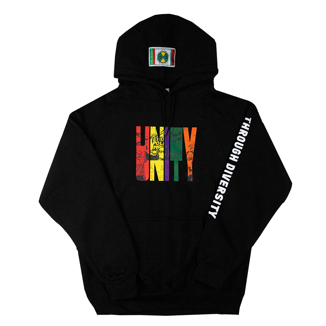 Cross Colours Unity Through Diversity Hoodie - Black