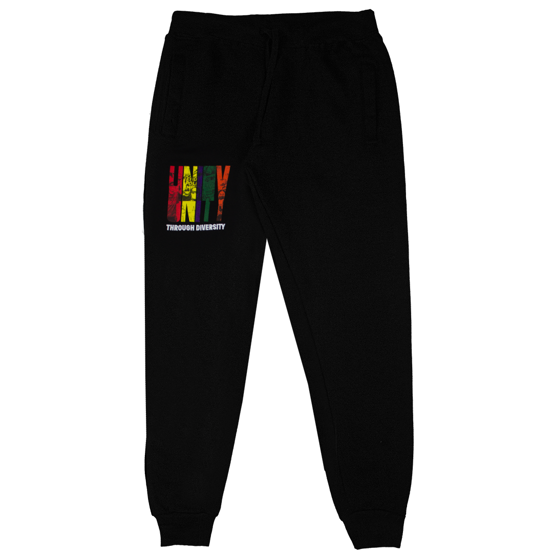 Cross Colours Unity Through Diversity Jogger - Black