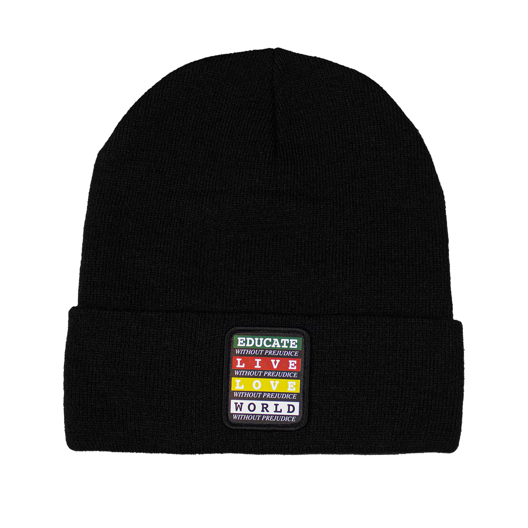 Cross Colours Without Prejudice Beanie - Black