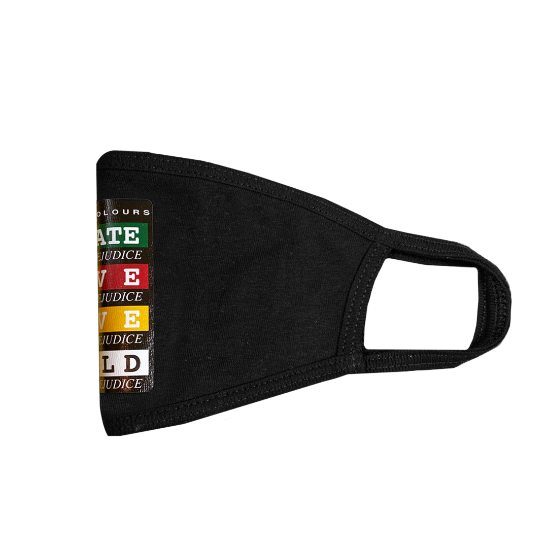 Cross Colours Educate Face Mask - Black