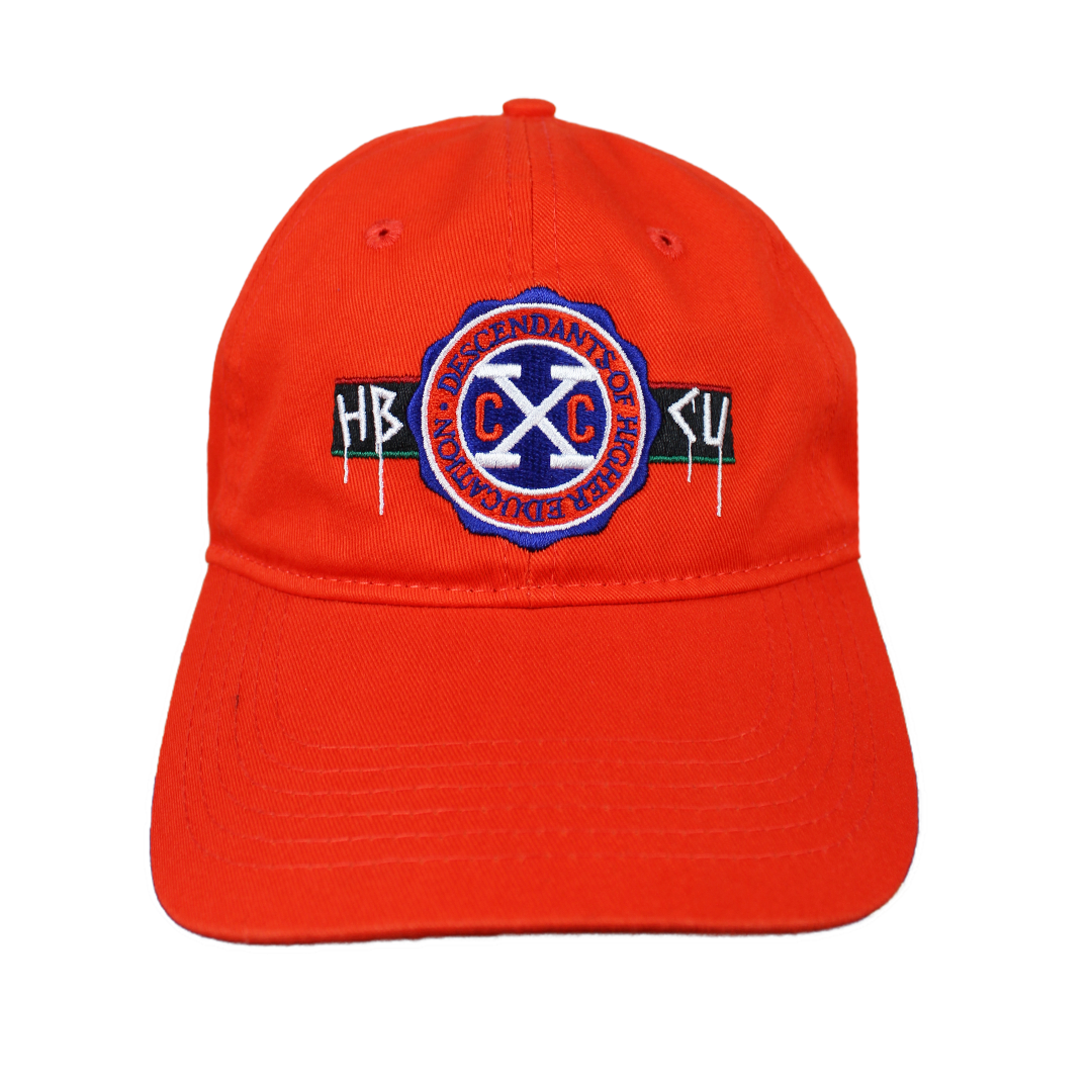Cross Colours X HBCU Dad Hat - Orange