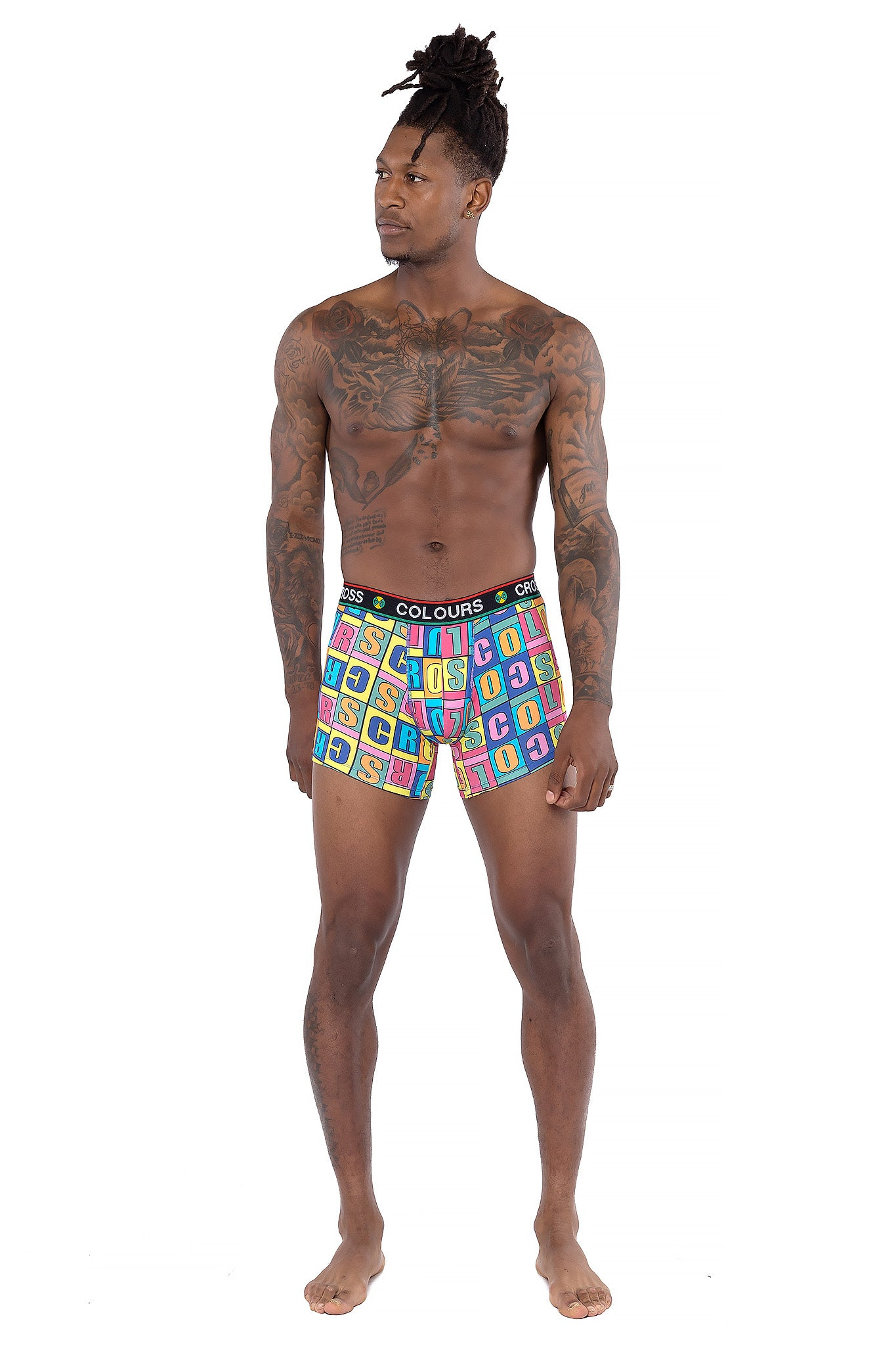 Cross Colours Alphabet Boxer Brief