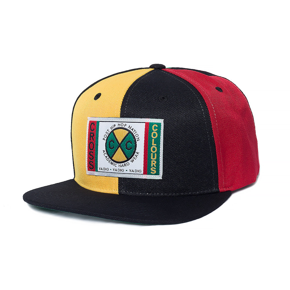 Cross Colours Denim Soutache Snapback - Multi